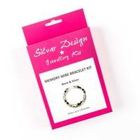 Silvar Design Memory Wire Bracelet Kit – Makes up to 2 Bracelets-175106