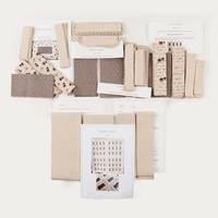 Totally Patched Simply Linen Whole Quilt Kit-175512