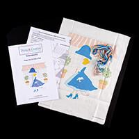 Dizzy & Creative Embroidery Too Posh to Peek Kit-177330