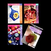 Search Press 4 x 20 to Make Books - Granny Square, Fabric & Silk -177410
