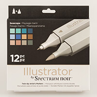 Spectrum Noir Illustrator 12 Pens - Seascape-180321