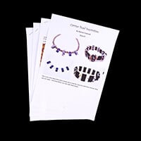 Dizzy Di Instructions Only for Mega Carrier Beads & Peyote Stitch-182095