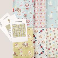 Fabric Freedom Circus Quilt Kit - Contains 5x0.5 Metres and Patte-182673