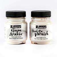 Jacquard 1 x Pearl Ex Gum Arabic Powder & 1 x Pearl Ex Varnish-183204