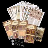 LaBlanche™ Faux Leather Sticker Kit - 4 Sheets of Stickers, A4 De-184633