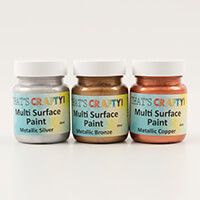That's Crafty! Set of 3 Pick n Mix Metallic & Interference 60ml M-187562