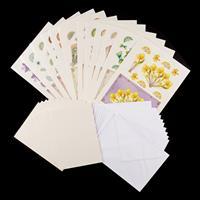 Dolly Dimples Elegant Fans Paper Kit - Inc Decoupage, A5 Cards & -189201