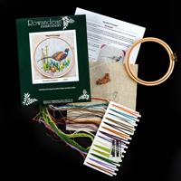 Rowandean Embroidery Woodland Pheasant Kit-190647