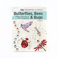 Transfer & Stitch Butterflies, Bees & Bugs by Sally McCollin- 50 -191916