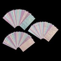 1 x Box Outline Sticker Sheets - 14 Designs, 3 Colours of Each De-194108