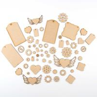 Olifantjie Steampunk Cogs, Wings and Tags MDF Embellishment Kit-194558