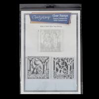 Clarity 3 Way Overlay Stamp Set - Make a Wish-199061