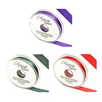 Eleganza Double Sided Satin Ribbon 15mm x 20m - Pick Any 3-199196