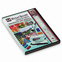 Encaustic Art Basics Twin Disk DVD by Michael Bossom - 221 mins-200611