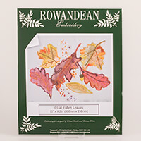 Rowandean Embroidery Fallen Leaves Kit-200614