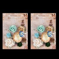Travel Often Set of 2 Flowers-203408