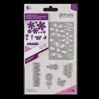Gemini Elements Die Set - Floral Bouquet - 6 Dies-204251