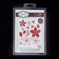 Dies by Sue Wilson Festive Collection Die Set - Poinsettia Additi-205321