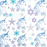 Dawn Bibby Mirror Image Christmas Motifs Panel-205511