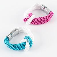 Kelanash Designs Love Knot Set of 2 Bracelet Kit - Ribbon, Magnet-205648