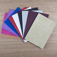 A4 Glitter Boards, Assorted Colours-205940