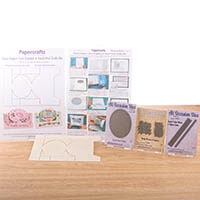 Robert Addams Small Oval Stepper Card Template, Oval Trellis, Bab-206029