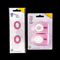 Cameo Die Set with Cameo Punch & Emboss Set - 2 Dies Total-207083