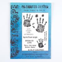 Craftascope A5 Media Stamp Sheet - Handy Helpers - 10 Images-207411
