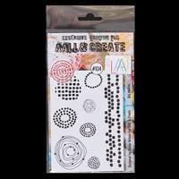 AALL & Create Clear Stamp Set - Dot Matrix - 8 Stamps-208119