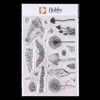 Hobby Art Garden of Wonders A5 Clear Stamp Set Designed by Janie -209752