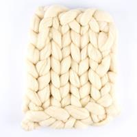 Juey Jumbo Merino Arm Knitting Single Bed Throw Kit - 80cm x 110c-210690