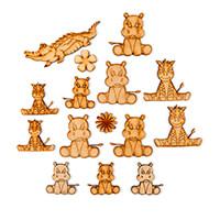Karacter Krafts 15 x Mini Animals & Embellishments-211418