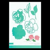 Kaisercraft Decorative Die Set - Layered Rose - 5 Dies-211679