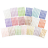 Craft Buddy Set of 500 Moonrock Gems - 10 Assorted Colours-212078