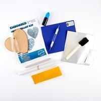 Peak Dale Products Metal Embossed Heart Kit-212333
