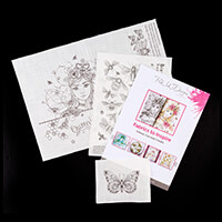 Pink Ink Designs Colour, Cut & Create A3 Queen Bee Design with 3D-212933