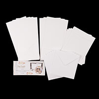 Which Craft? Square Tent Cards with Aperture & Recessed Window, F-215257