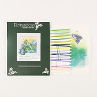 Rowandean Embroidery Bluebells and Wild Garlic Kit-215448