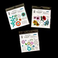 Creative Expressions 3 x Umounted Stamp Sets - Joyful, Festive & -215512