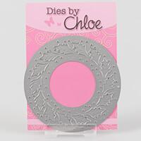 Dies by Chloe Holly Wreath Die-216667