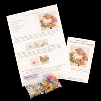 Impressions Crafts 2 x Leaf & Flower Charm Bracelet Kit-219383