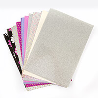 Creative Films Mixed Card & Adhesive Film Collection - Flowers - -219519