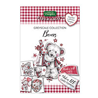 Katy Sue Bears - Greyscale Collection - 120 Toppers in Total-222298