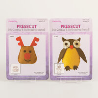 Crafts Too Set of 2 Dies - Deer & Owl-222489