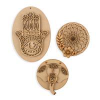 Olifantjie Mystical Mandalas 3 x MDF Kits-222780