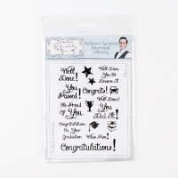 Sentimentally Yours A5 Clear Stamp Set - Achievement Collection --222926