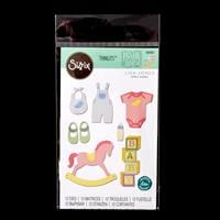 Sizzix® Thinlits Set of 12 Dies - New Baby #2 by Lisa Jones-223641