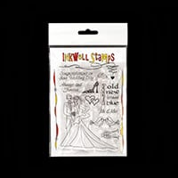 Inkwell Romantic Weddings Stamp Set - 11 Stamps Total-224037