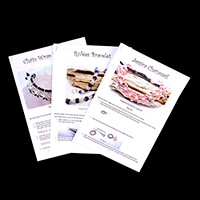 Dizzy Di Instructions Only for Jessica Chainmaille, Chain Wrap & -224225