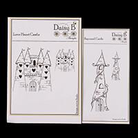 Nina Crafts 2 Enchanted Castle Stamp Sets - Love Heart & Rapunzel-225999